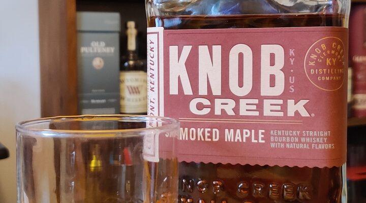 Knob Creek Smoked Maple Kentucky Straight Bourbon